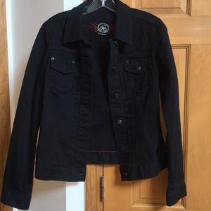 Gap Black Jean Jacket Size Medium